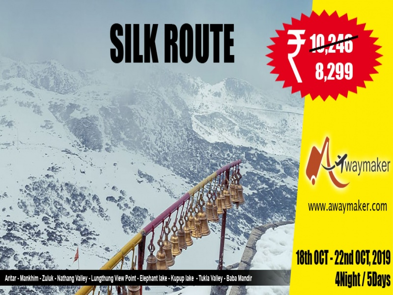 SILK ROUTE : The Zigzag Road of Himalaya (after Festive Mood)